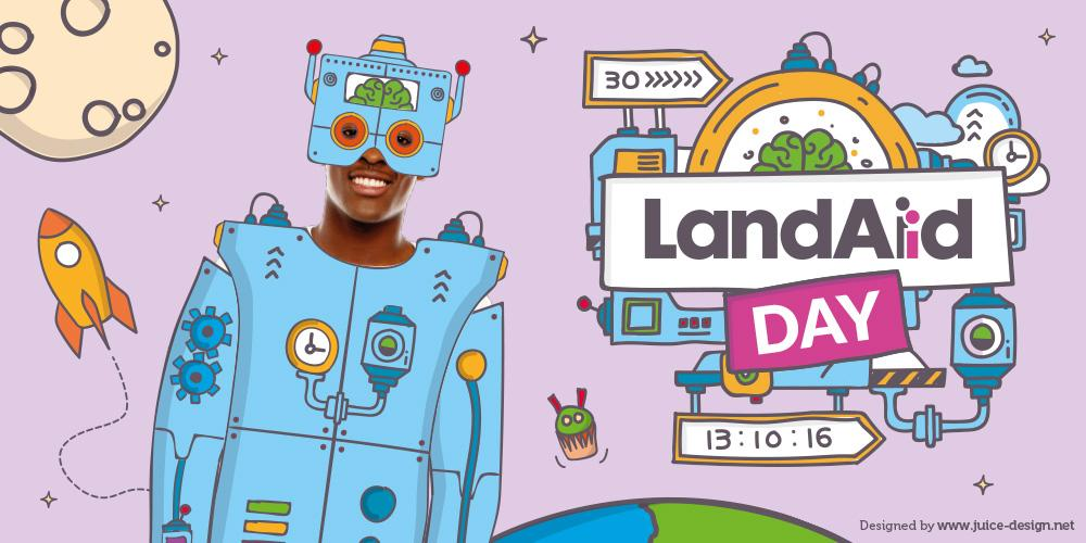 LandAid Day event banner