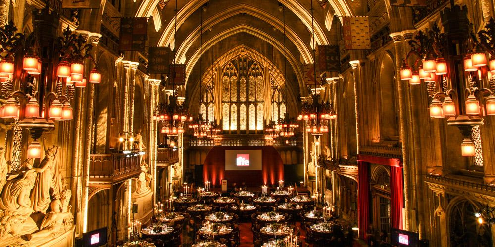 great hall at the Guildhall
