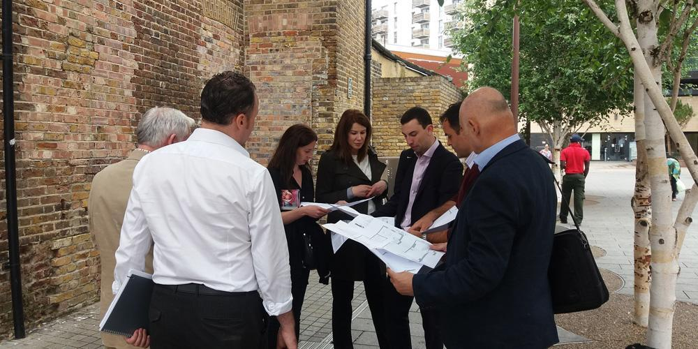 Property professionals donating their skills