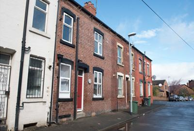 Empty homes in Leeds