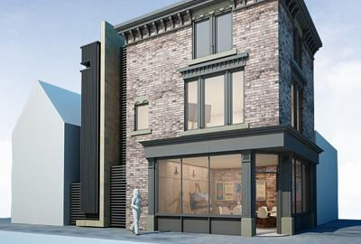 CGI of the horsfall building